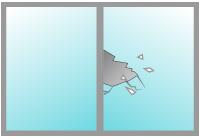 ガラスの補修料金について